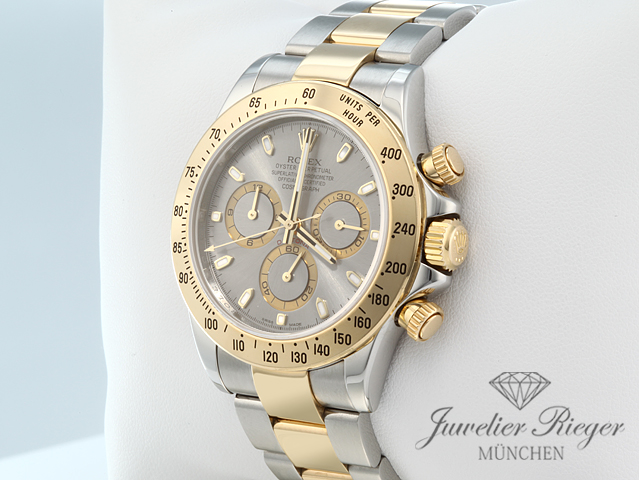 rolex daytona 116523 stahl gelbgold 750 2013 chronograph. Black Bedroom Furniture Sets. Home Design Ideas