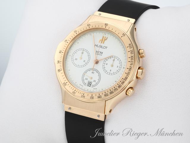 hublot uhr mdm classic chronograph rot gold 750 armbanduhr. Black Bedroom Furniture Sets. Home Design Ideas